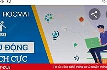 Hệ thống  HOCMAI bị cộng đồng mạng tấn công vì hợp tác với giáo viên Vũ Khắc Ngọc