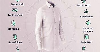 Ra mắt loại áo sơ mi giúp người mặc giảm căng thẳng
