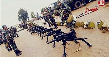 """Súng chống """"biển người"""" Việt Nam sử dụng được đưa vào chiến trường Syria"""