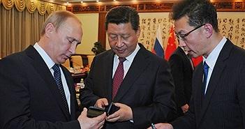 'iPhone phiên bản Nga' Putin tặng Tập Cận Bình có gì?
