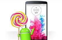 LG G3 bắt đầu được cập nhật Android 5.0 từ tuần này