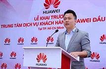 """Huawei: """"Bảo hành trong 2 giờ, chậm hơn sẽ đổi máy mới""""."""