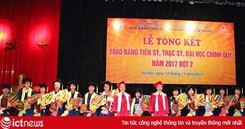 PTIT đã đào tạo hàng vạn Cử nhân, Kỹ sư, Thạc sĩ, Tiến sĩ cho ngành TT&TT