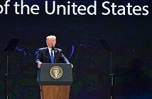 Công nghệ giúp Tổng thống Trump diễn thuyết lưu loát