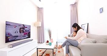 Samsung dẫn đầu xu hướng smart TV dành cho gia đình Việt hiện đại