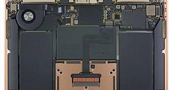 Apple sắp xếp linh kiện cực đẹp và tỉ mỉ, nhìn MacBook Air 2018 là biết