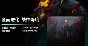 Nubia Red Magic 2 ra mắt: Snapdragon 845, RAM 10GB, giá khoảng 13 triệu đồng