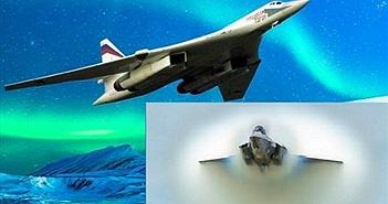 """""""Càng già càng cay"""", oanh tạc cơ Tu-160 Nga vừa cho F-35 Mỹ """"hít khói"""""""