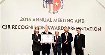 Dow nhận giải thưởng Amcham CSR 2015 nhờ những đóng góp vì cộng đồng