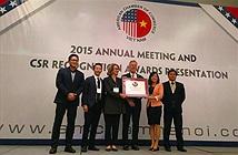 Microsoft Việt Nam nhận giải thưởng cống hiến cho cộng đồng năm 2015