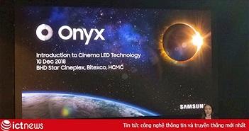 Samsung giới thiệu Onyx Cinema LED, màn hình dành cho rạp phim