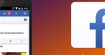 Ứng dụng Facebook Lite đạt 1 tỷ lượt tải xuống