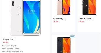 Bộ 4 smartphone Vsmart lộ thiết kế và cấu hình: tai thỏ, camera kép có đủ