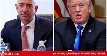 Ông Trump 'chơi đểu' Amazon, trao hợp đồng 10 tỷ USD cho Microsoft?