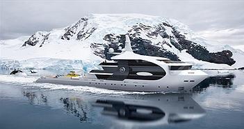 Siêu du thuyền trông giống cá voi sát thủ