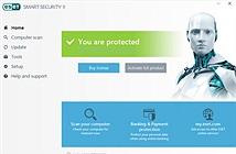 ESET Smart Security 9: Bảo vệ máy tính toàn diện