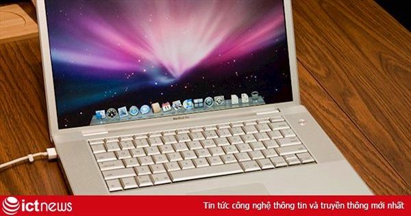 12 năm trước, MacBook Pro đầu tiên được ra mắt