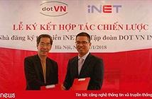 iNET hợp tác với DOTVN INC phát triển tên miền .VN ra quốc tế