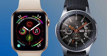 So sánh Samsung Galaxy Watch và Apple Watch Series 4