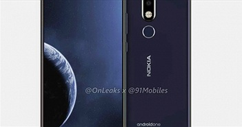 """Nokia 6.2 với màn hình """"mụn cóc"""" cho camera selfie sắp ra mắt"""