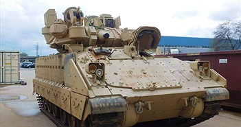 Mỹ thử nghiệm hệ thống phòng thủ chủ động cho xe chiến đấu Bradley