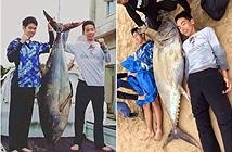Nam sinh tay không quyết chiến cá ngừ khổng lồ và kết