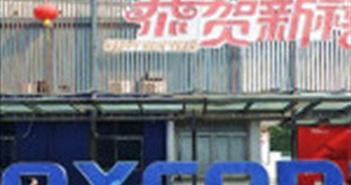 Doanh số iPhone kém khiến doanh thu Foxconn sụt giảm