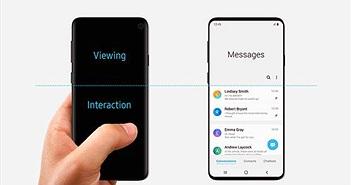 Galaxy S10 lộ thiết kế từ chính Samsung