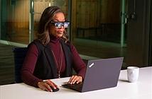 Kính thông minh Lenovo ThinkReality A3 hiển thị tối đa 5 màn hình ảo
