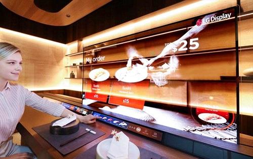 LG đem ý tưởng màn hình OLED trong suốt tới CES 2021