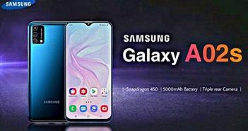 Samsung Galaxy A02s giá rẻ đến Mỹ