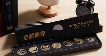 Thư mời iQOO 7 đi kèm phụ kiện lạ mắt