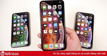 Apple vẫn sẽ giữ nguyên mức giá của iPhone 2018 cho thế hệ iPhone năm nay bất chấp doanh thu suy giảm?