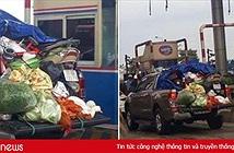 Hình ảnh chuyến xe chở cả quê hương quay lại Thủ đô sau kỳ nghỉ Tết Nguyên đán khiến nhiều người bật cười