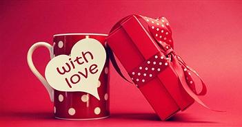 Những món quà ý nghĩa trong ngày Valentine