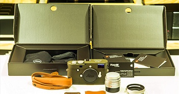 Leica M-P màu xanh quân đội giá 247 triệu đồng tại Việt Nam