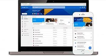 Google Drive cập nhật nhiều tính năng mới hỗ trợ doanh nghiệp