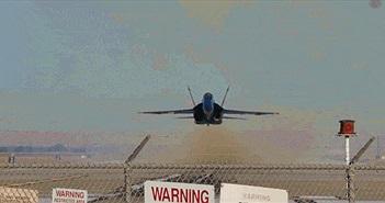 Trải nghiệm cảm giác đứng ngay dưới đường cất cánh của máy bay phản lực