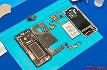 Di Động Việt tháo tung Galaxy S9+ ngay tại tech offline