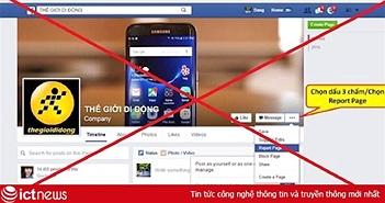 Giả mạo website, fanpage VNPT, Thế giới di động, Điện máy xanh ... lừa đảo người tiêu dùng