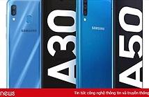 Samsung giới thiệu Galaxy A50 và A30, cảm biến vân tay dưới màn hình, cụm 3 camera
