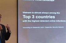 Việt Nam dẫn đầu top 20 quốc gia bị tấn công mạng trên máy tính ICS