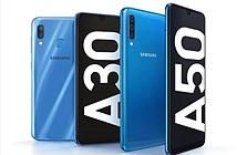 Bộ đôi Galaxy A50 và Galaxy A30 bất ngờ ra mắt tại Việt Nam, giá từ 5,79 triệu