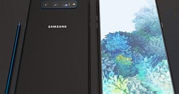 Ngắm Galaxy Note20 5G với thiết kế camera Galaxy Note8