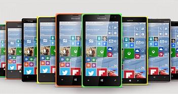Microsoft cập nhật Windows 10 cho hầu hết các máy Lumia