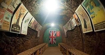 Bên trong hầm tránh bom bí mật ở Anh