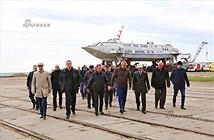 Khám phá nơi đóng siêu tàu đổ bộ Zubr ở Crimea