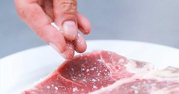 Lý do chúng ta thường bỏ muối vào thực phẩm