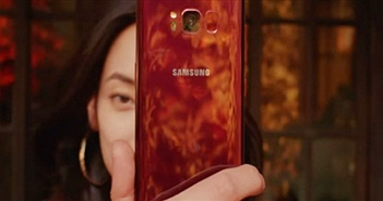 Galaxy S8 đỏ tía tái xuất, kình nhau với iPhone 8 RED