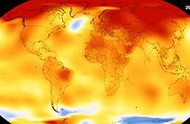Biến đổi của nhiệt độ Trái đất trong gần 140 năm